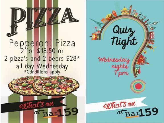 Bar 159 - Quiz Nights Every Wednesday